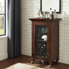 Jefferson Portable Bar Cabinet