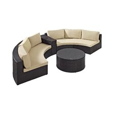 Catalina 4 Piece Deep Seating Group with Cushions