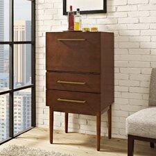 Everett Bar Cabinet with Wine Storage