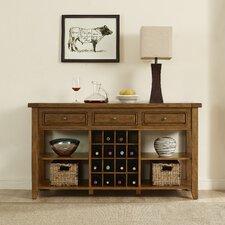 Sienna 16 Bottle Floor Wine Cabinet