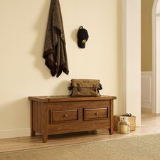 Sienna Wood Storage Bedroom Bench