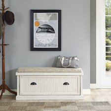 Seaside Wood Entryway Bench