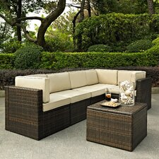 Palm Harbor 6 Piece Seating Group with Cushions
