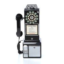 1950's Classic Black Pay Phone