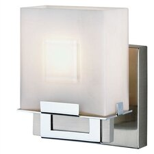 Square 1 Light Vanity Wall Sconce