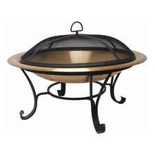 Copper Folding Fire Pit