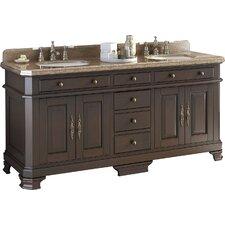 """Perkin 72"""" Double Bathroom Vanity Set"""