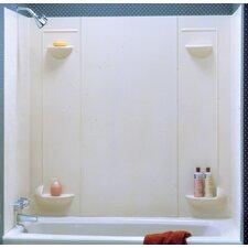 Everyday Essentials Five Panel Veritek Tub Wall System