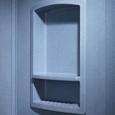 Large Recessed Shower Accessory Shelf