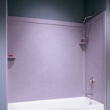 Metropolitan Three Panels Bath Tub Wall