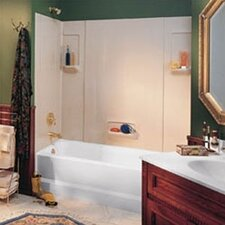 Everyday Essentials Five Panel High Gloss Tub Wall System