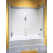 Classics Five Panel Bath Tub Wall System
