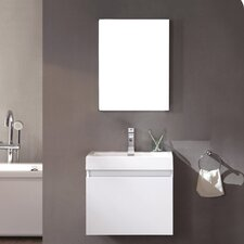 "Senza 24"" Single Nano Modern Bathroom Vanity Set"