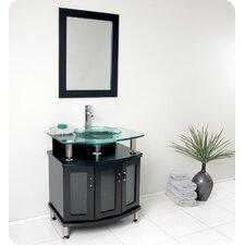 "Classico Contento 30"" Modern Bathroom Vanity Set"