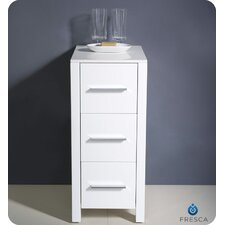 "Torino 12"" x 31.1"" Bathroom Linen Side Cabinet"