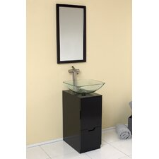 "Stella 17"" Single Brilliante Modern Bathroom Vanity Set"