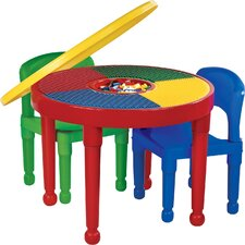 4 Piece Round Activity Table & Chair Set