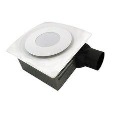 SlimFit 120 CFM Bathroom Fan with Light and Sensor