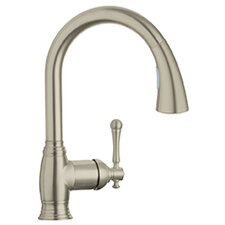 Bridgeford Single Handle Deck Mount Kitchen Sink Faucet