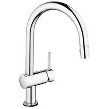 Minta Single Handle Single Hole Deck Mount Kitchen Faucet