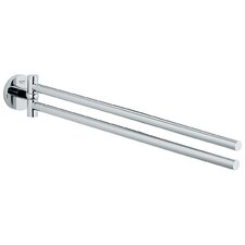 "Essentials 17.68"" Wall Mounted Double Towel Bar"