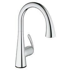 LadyLux3 Single Handle Single Hole Kitchen Faucet