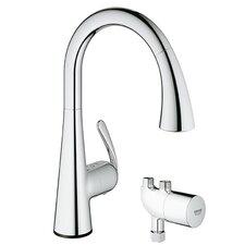 Ladylux Single Handle Single Hole Standard Kitchen Faucet