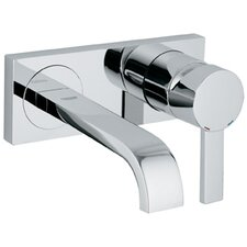 Allure Single Handle Wall Mounted Bathroom Faucet