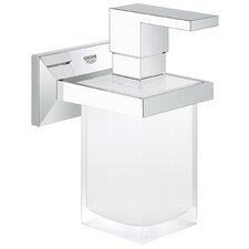 Allure Brilliant Soap Dispenser and Holder