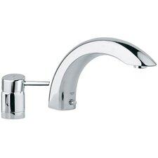 Concetto Single Handle Deck Mount Roman Tub Faucet Trim