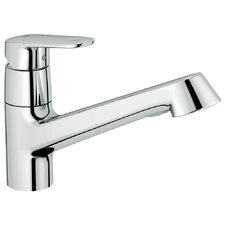 Europlus Single Handle Single Hole Standard Kitchen Faucet with Water Care