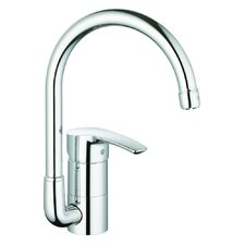 Eurostyle Single Handle Single Hole Standard Kitchen Faucet with Water Care
