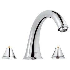 Kensington Double Handle Roman Tub Faucet