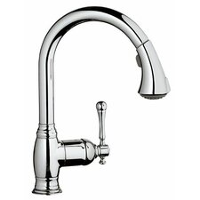 Bridgeford Single Handle Single Hole Standard Kitchen Faucet