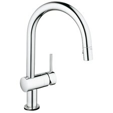 Minta Touch Single Handle Single Hole Standard Kitchen Faucet with Touch Control