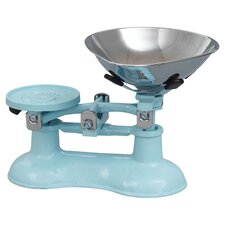Pale Blue Mechanical Kitchen Scale
