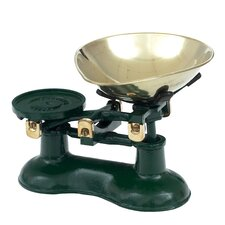 Dark Green Mechanical Kitchen Scale