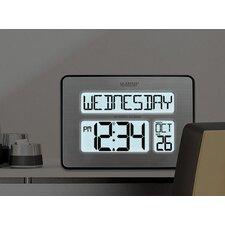 Atomic Full Calendar Clock