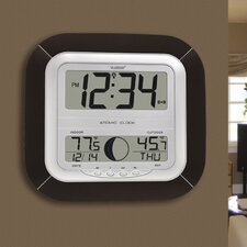Atomic Digital Wall Clock