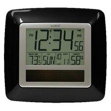 Solar Atomic Digital Wall Clock