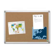 Mastervision Wall Mounted Bulletin Board, 4' H x 6' W