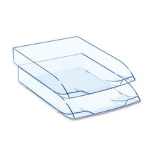 Letter Tray, Stackable, Ice Blue