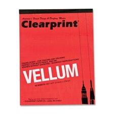 """Translucent Vellum, 16 lb., 8-1/2""""x11"""", 50 Sheets, Translucent"""