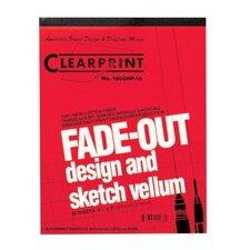1000HP Series Unprinted Vellum Design and Sketch