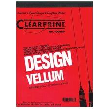 1000H Series Unprinted Vellum Sheet (Set of 10)