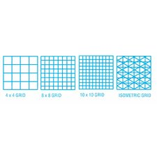 1000HP Series Vellum Design and Isometric Grid Sketch