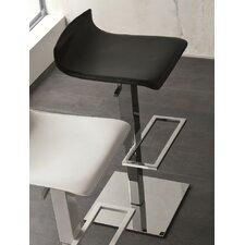 Smart Air Adjustable Height Swivel Bar Stool with Cushion