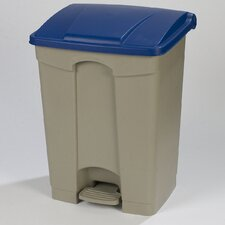 Step-On 12-Gal Rectangular Waste Container