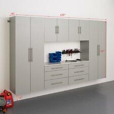 HangUps 6' H x 10' W x 1.33' D 6 Piece Storage Cabinet I Set