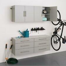 HangUps 6' H x 5' W x 1.33' D 4 Piece Storage Cabinet F Set